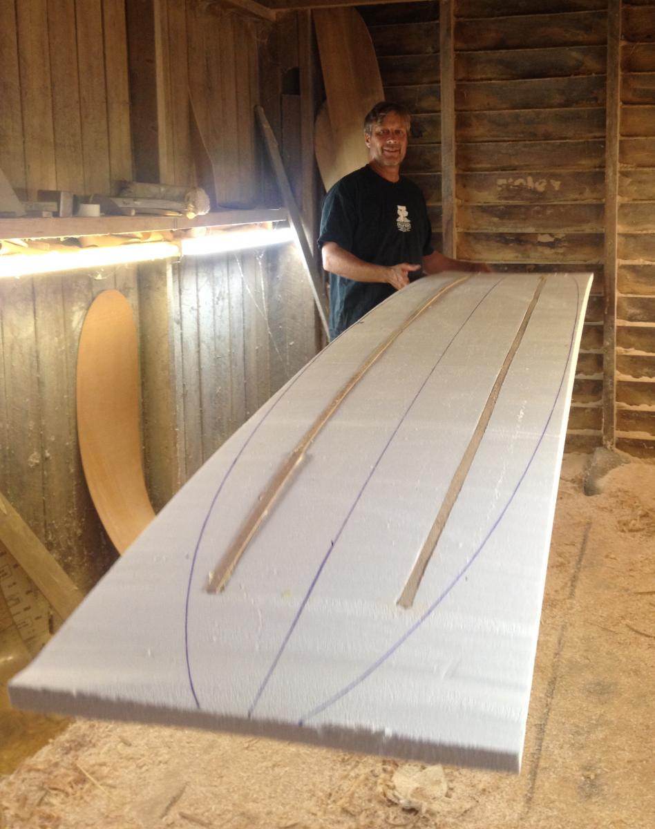 The Corky Method Is Way To Make Surfboards Without Toxic Materials You Do Not Need A Respirator However It Mentally Demanding Because Have See And